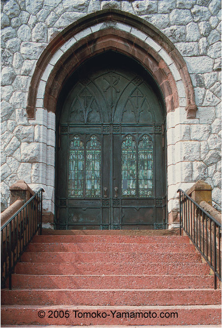 Hagerstown Presbyterian Church & Main Gothic Doors at Hagerstown Presbyterian Church: photo by ... Pezcame.Com