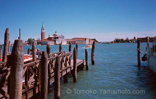 San Giorgio Maggiore from Molo: Photo of Venice, Italy by Tomoko Yamamoto